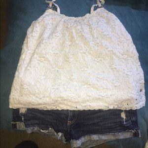 Shirt and shorts lot